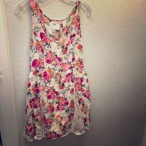 Band of Gypsies Floral and Lace dress